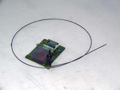 Bonnet Release Cable Plate 15018