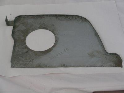 Brake Ventilation Panel Ft Wheel Arch Passenger