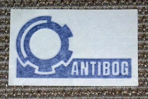 Antibog decal