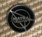 Matra Sports Gel Badge SKU16387
