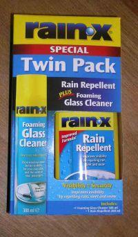 Rain-X Twin Pack Rain Repellant / Foaming Glass Cleaner SKU16420