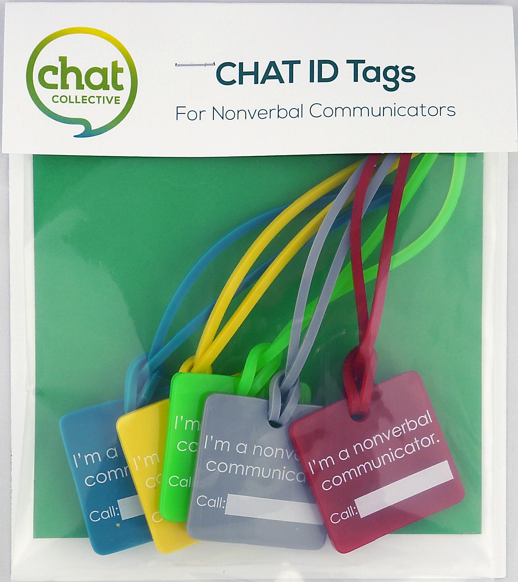 Chat ID Tags - nonverbal communicator
