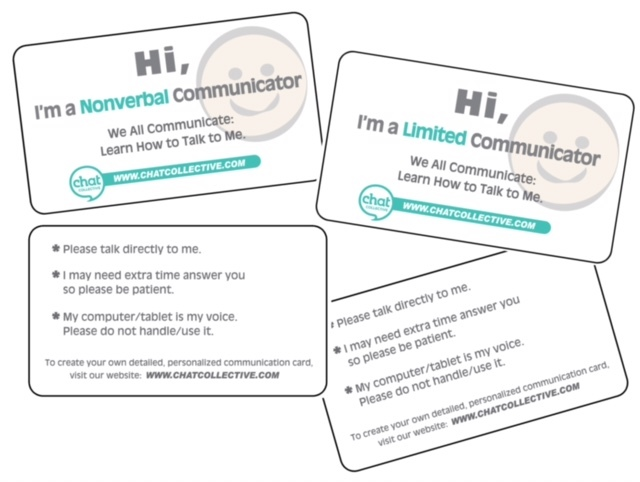 Communication Cards - pack of 25 00004