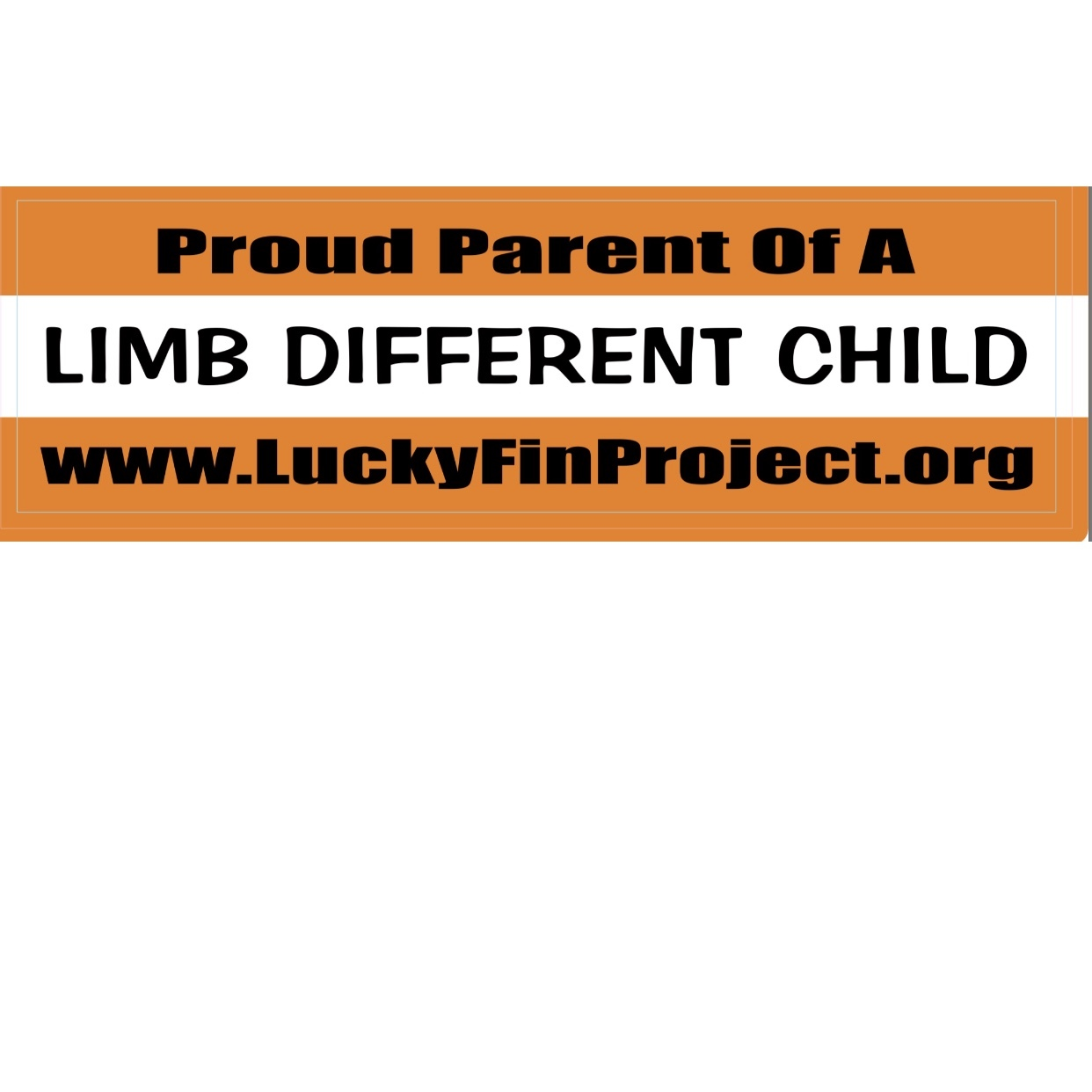 Proud Parent Bumper Sticker Proud- BUMPER