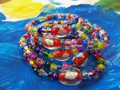 Lucky Fin Bracelet-Multi Colored LFB-Multi