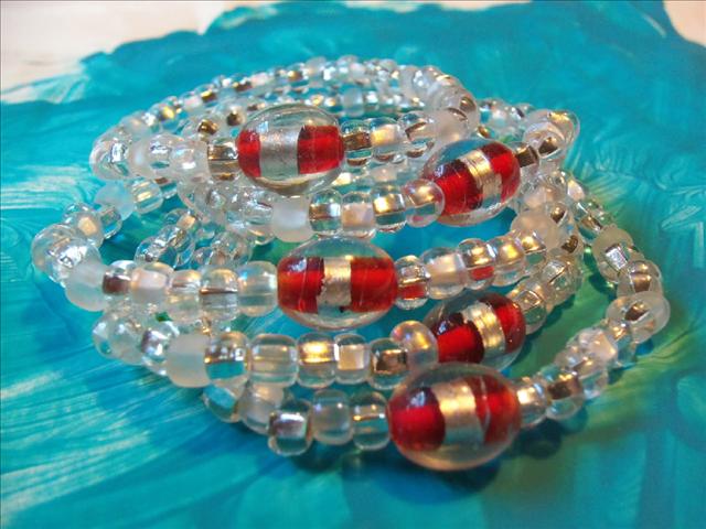Lucky Fin Bracelet-Crystal LFB-Crystal