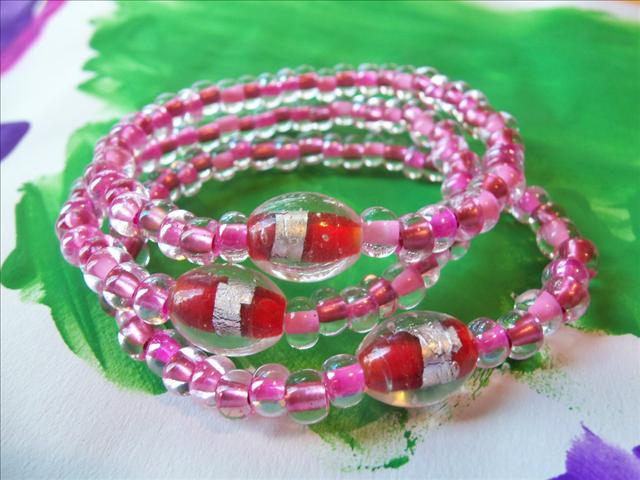 Lucky Fin Bracelet-Pink LFB-PINK