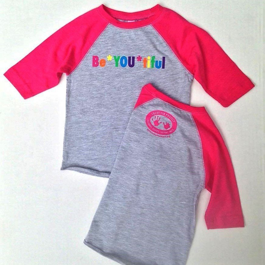 "Youth ""BE *YOU* TIFUL""  3/4 Sleeve GBYT"