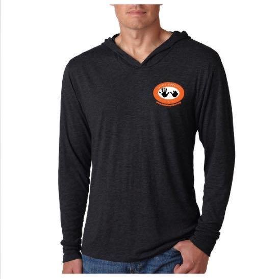 Unisex Logo Tri-Blend Long Sleeve Hoodie Tee ULHT