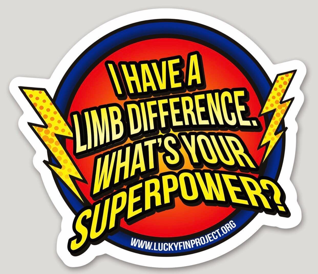 "Super Power 4.43"" x 3.00"" Die-Cut Bumper Sticker SPWR-BUMP"