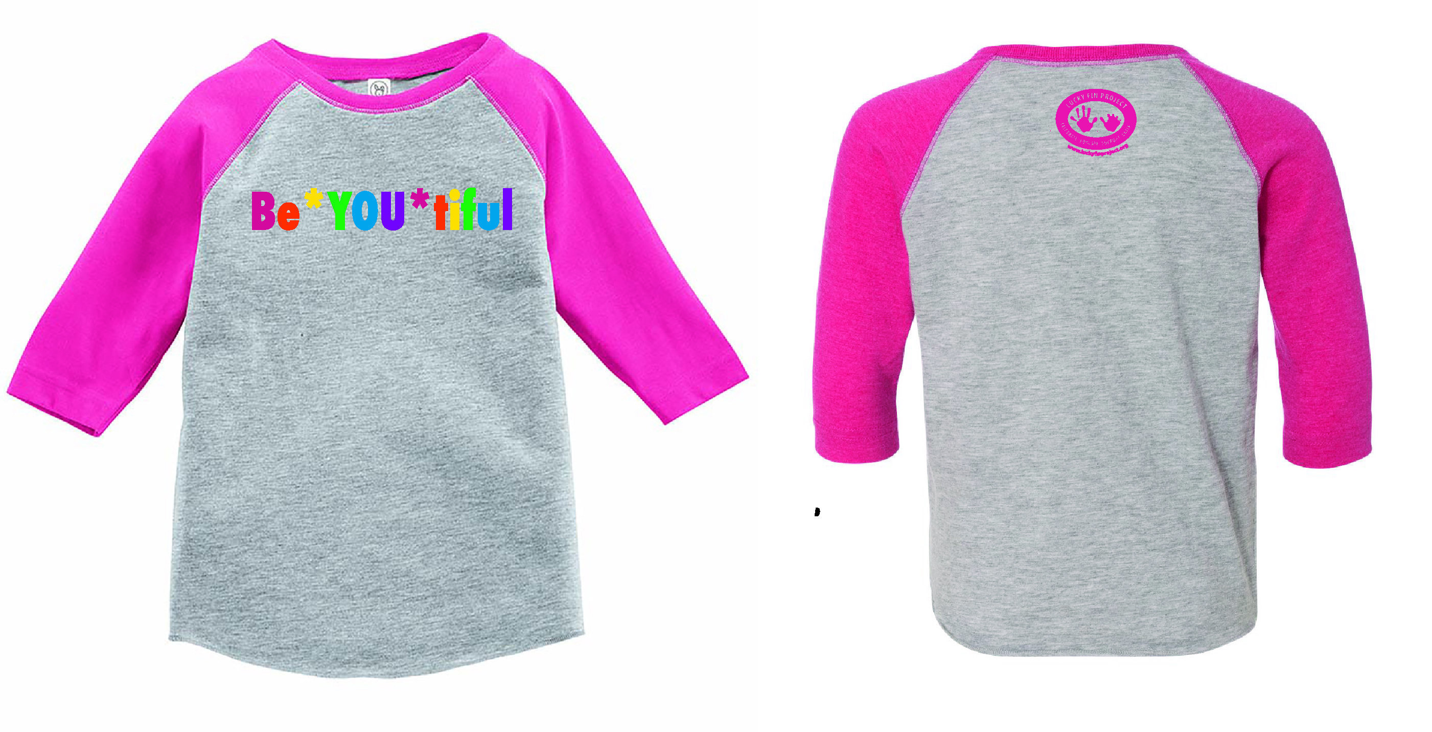 "Ladies ""BE *YOU* TIFUL""  3/4 Sleeve  ON SALE LBYT"