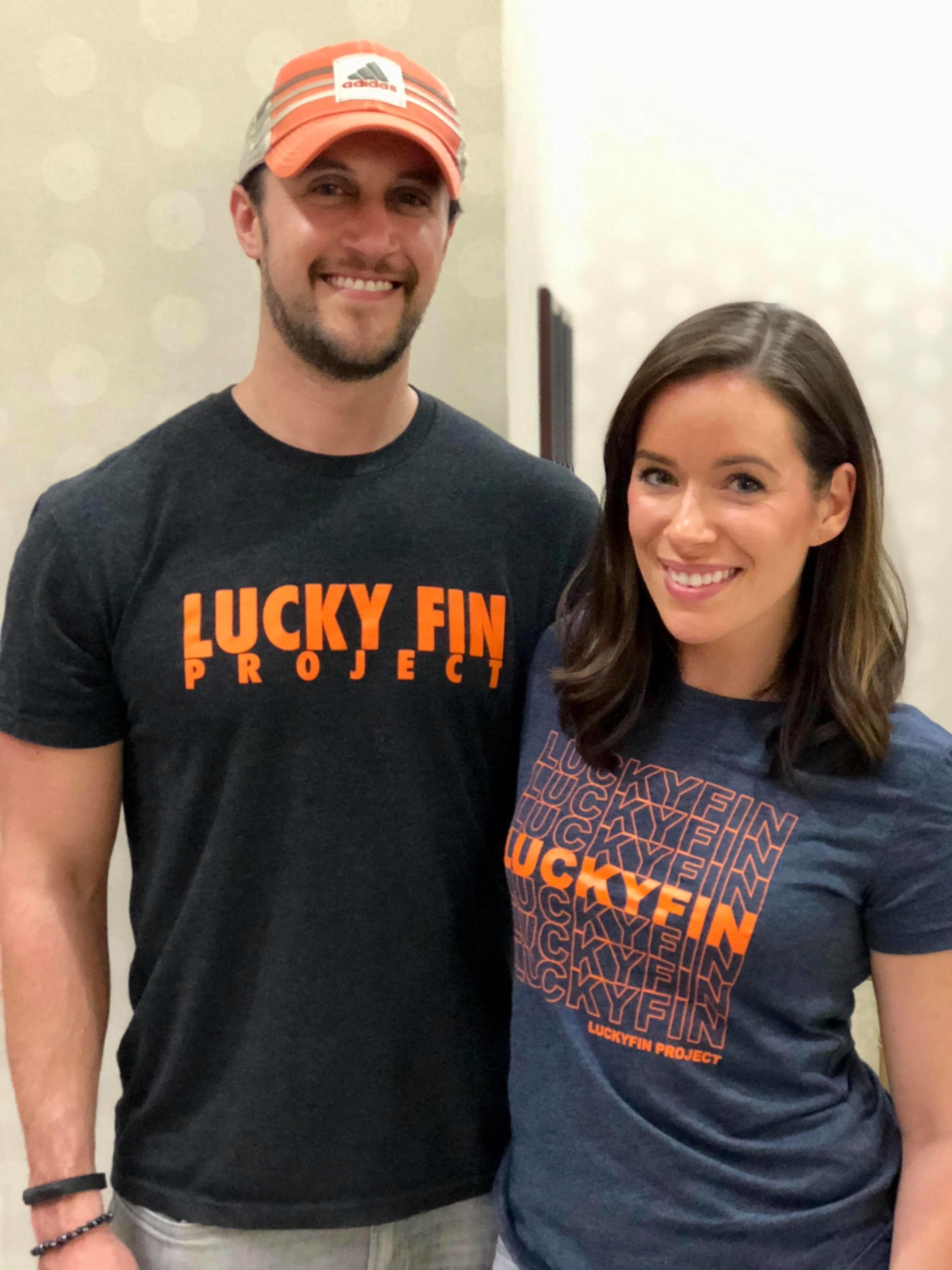 Women's Cut Grocery Lucky Fin T-shirt GRO-WC