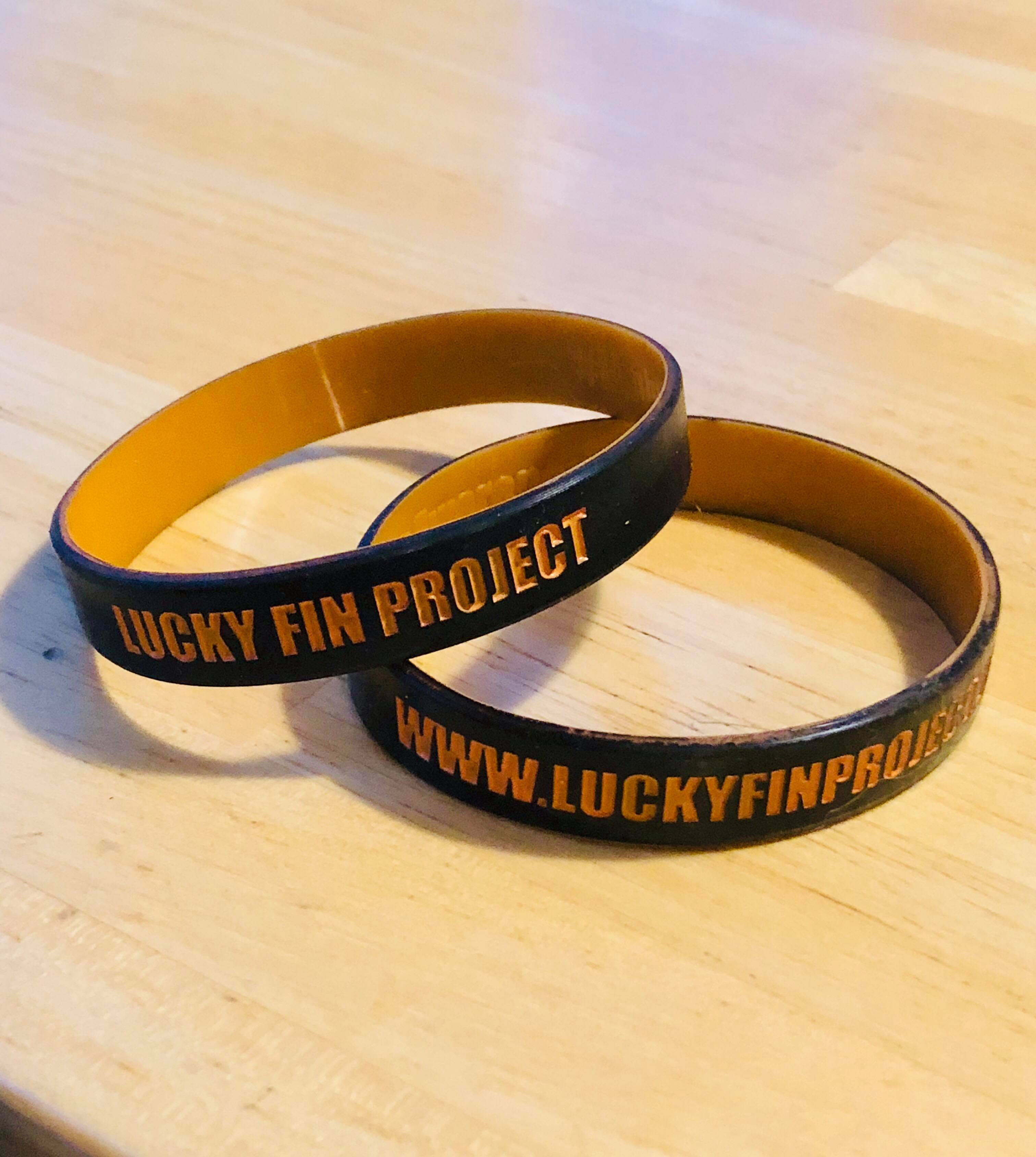 Lucky Fin Project Silicone Wristband