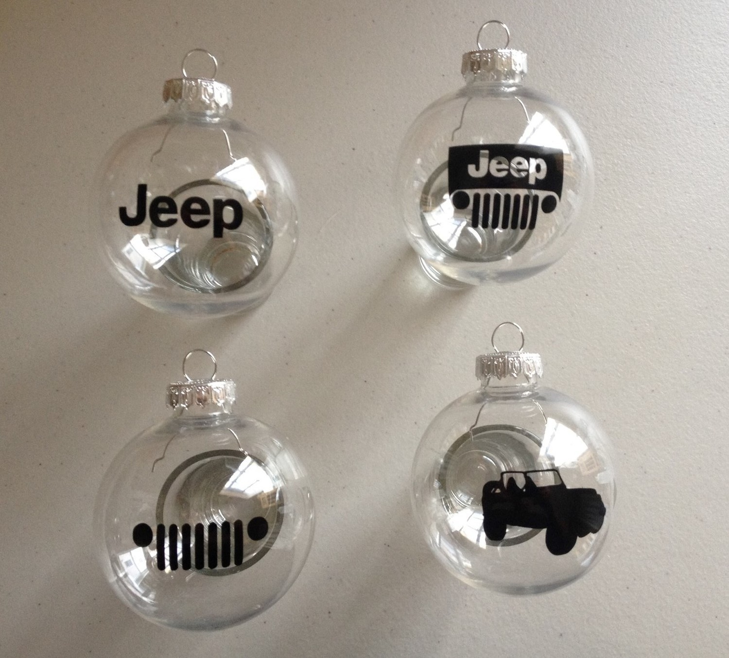 Jeep Christmas Ornament.Christmas Tree Ornaments