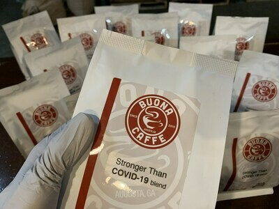 Stronger Than COVID-19 Blend 12oz. for First Responders