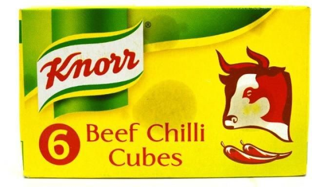 Beef chilli cubes spice seasaonings from Kenya-6 cubes
