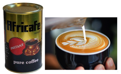 Africafe Instant coffee from Tanzania-250Gms