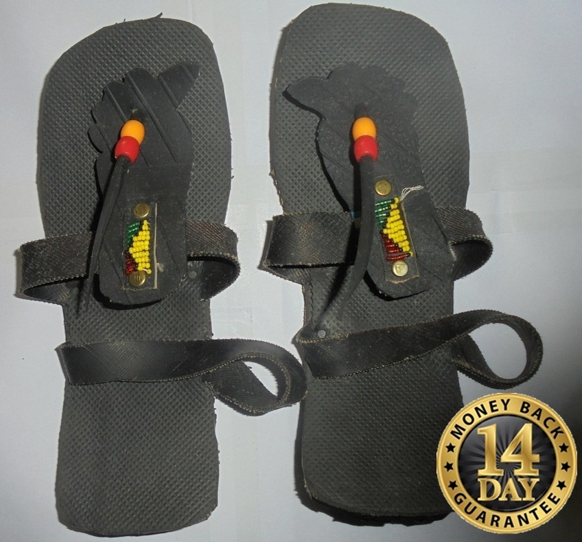 Modern Masai Recycled tire Unisex Akala sandals A001 U.S size 9.5 men