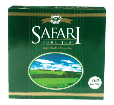 Safari pure tea bags from Kenya-100 TBS