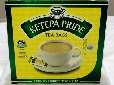 Ketepa pride enveloped tea bags from Kenya-100TBS
