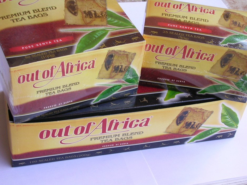 Out of Africa tea bags from Kenya-50TBS