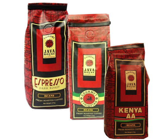 Nairobi Java coffee-1st grade quality roasted coffee beans from Kenya