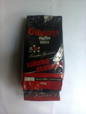 Gibson coffee(Medium grind medium roast) 100Gms