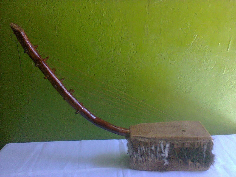 Kenya Adeudeu Traditional Music Instrument