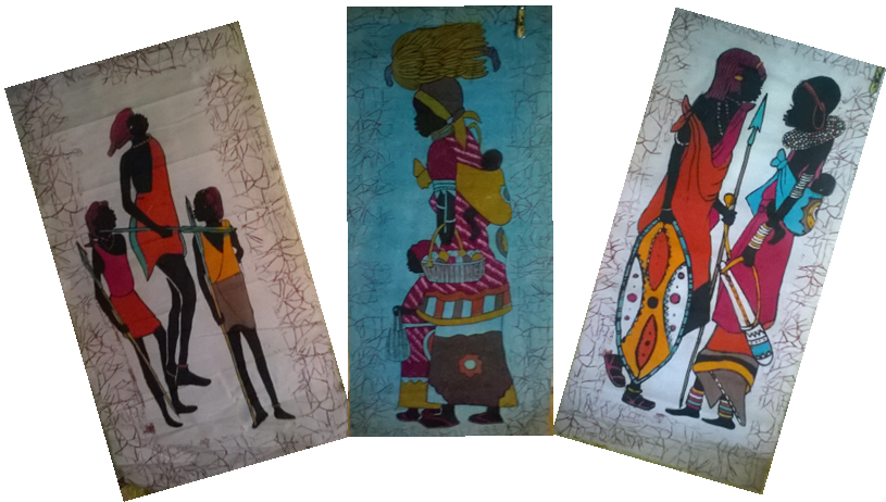 Kenya Masai oil painting-MP001