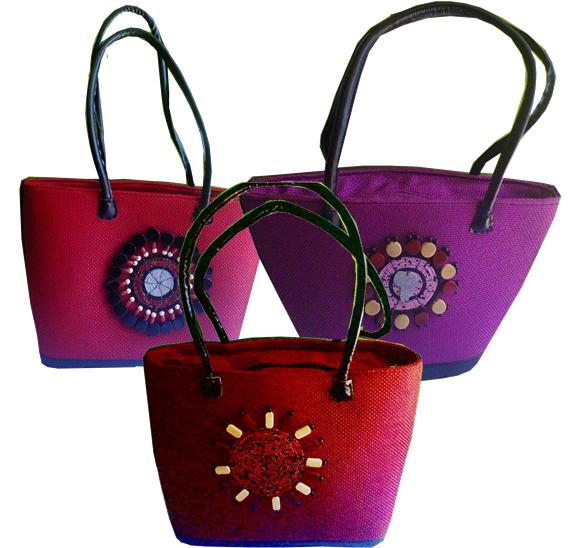 Shopping basket-Kenya shopping tote basket bag