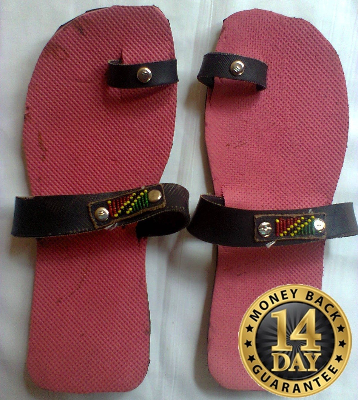 Masai Red recycled tire sandals.U.S SIZE11,U.K10.5,EUR44