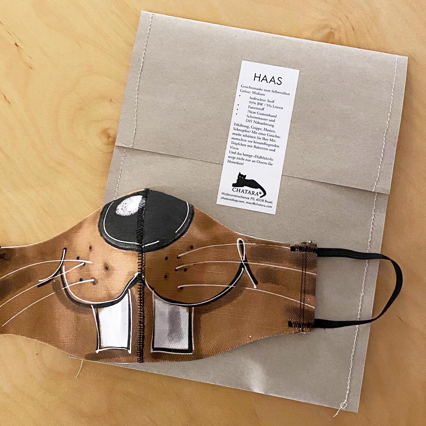 DIY-Kit: HAAS-Gesichtsmaske  zum Selbernähen