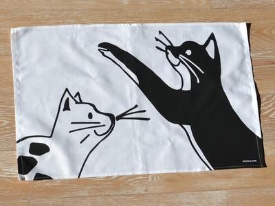 CAT TEA TOWEL B – TORCHON B – KÜCHENTUCH B