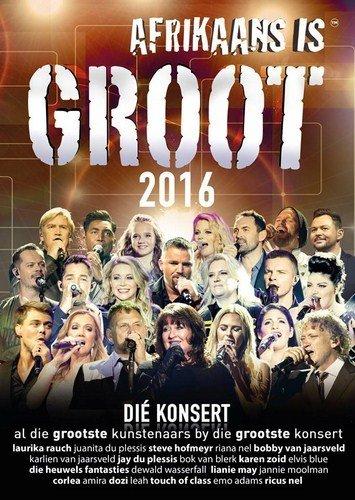 DVD Afrikaans Is Groot 2016 AIG2016DVD