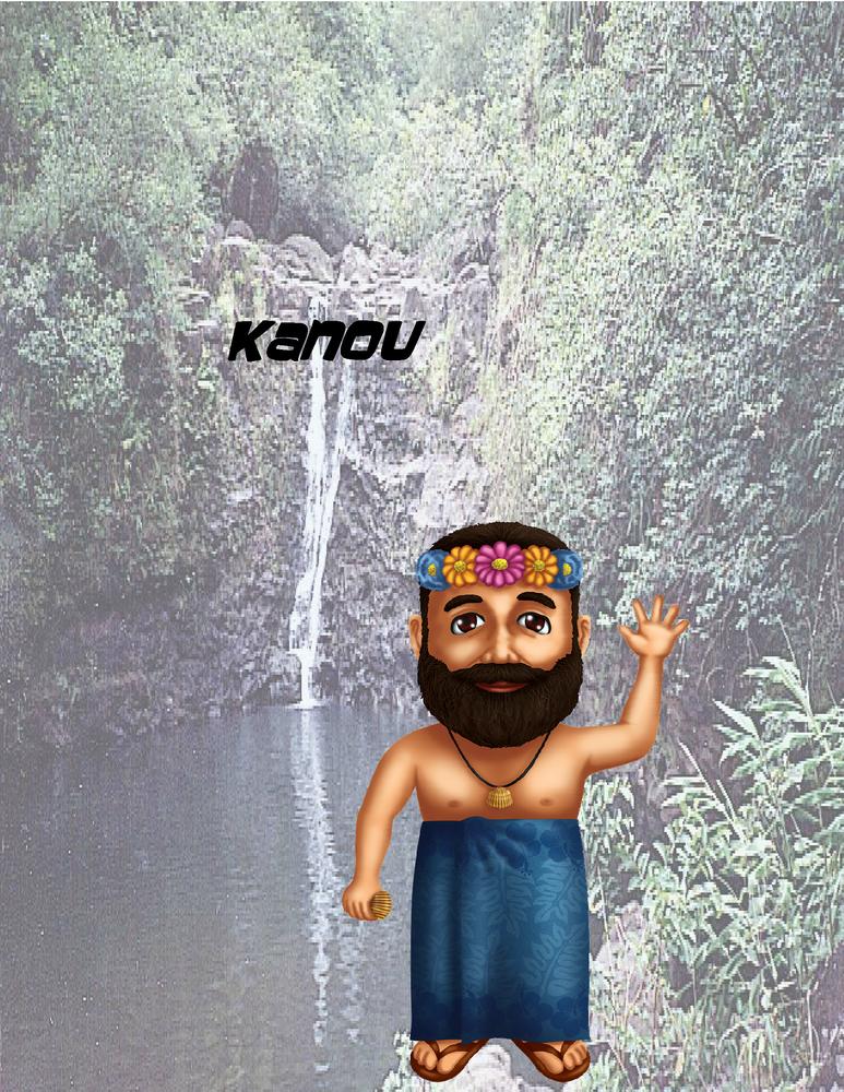 """Kanou Poster - 8.5"""" x 11"""""""