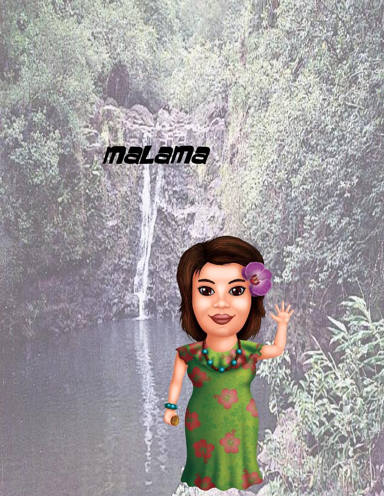 """Malama Poster - 8.5"""" x 11"""""""