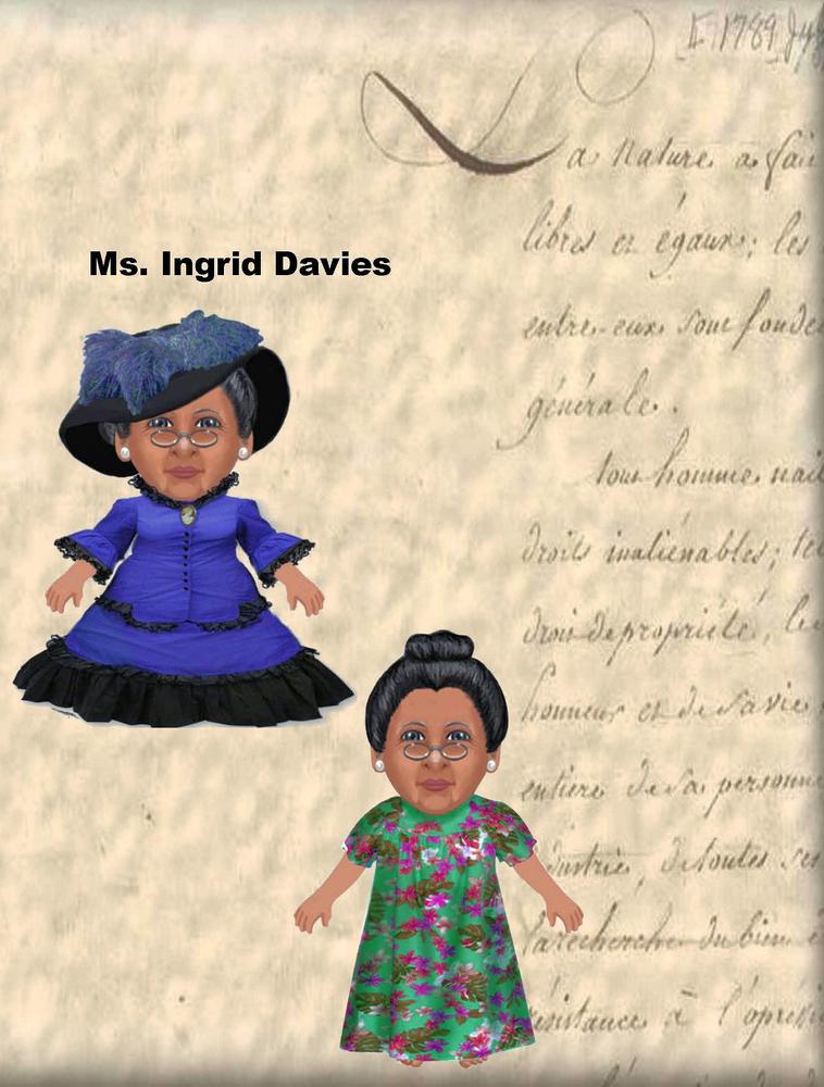 """Ms. Ingrid Davies Poster - 24"""" x 36"""""""