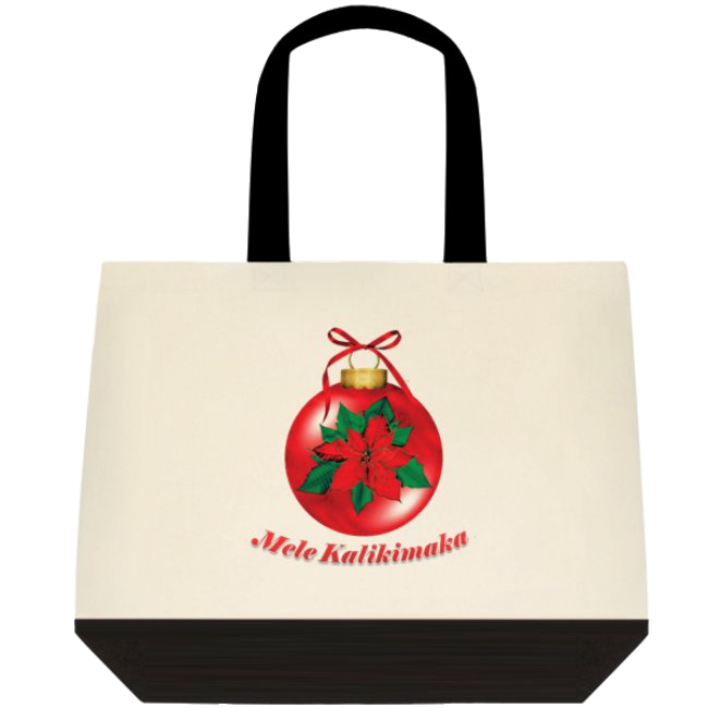 """Mele Kalikimaka"" Tote Bag"