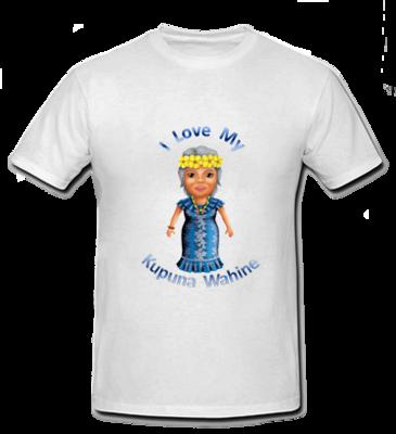 I Love my Kupuna Wahine T Shirt - Size Infant