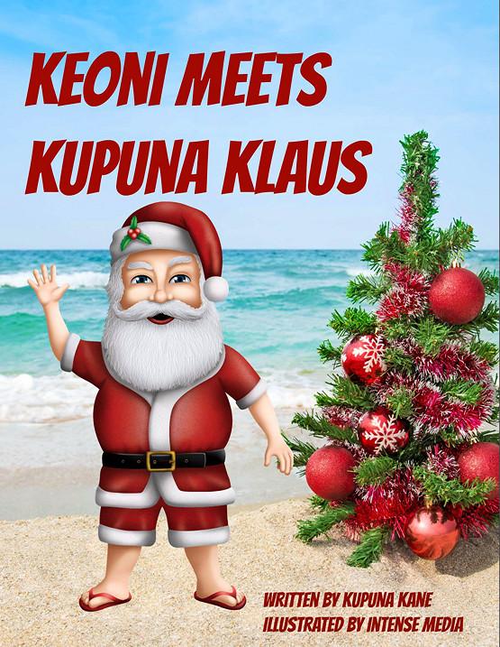 Keoni Meets Kupuna Klaus - Soft Cover