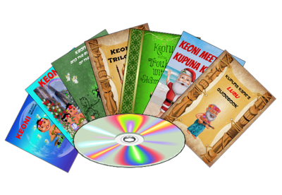 Keoni the Menehune Book Collection - FlipBook Format on CD