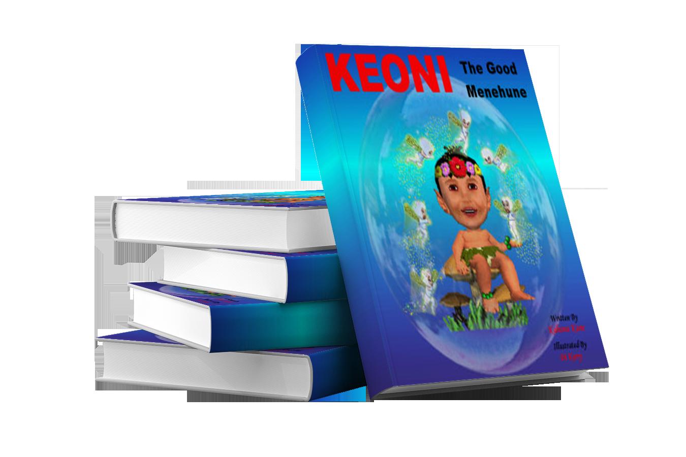 Keoni the Good Menehune - Hard Back