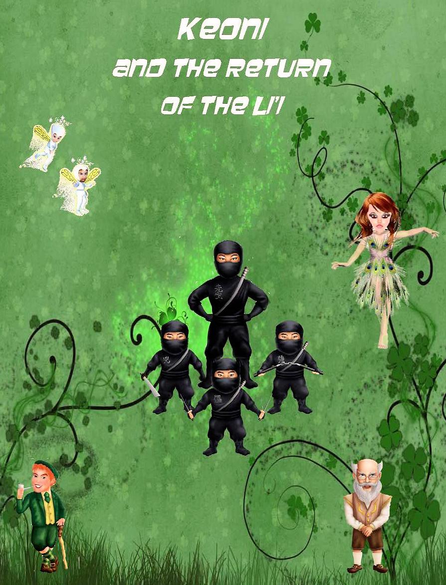 Keoni and The Return of the Li'i - Soft Cover