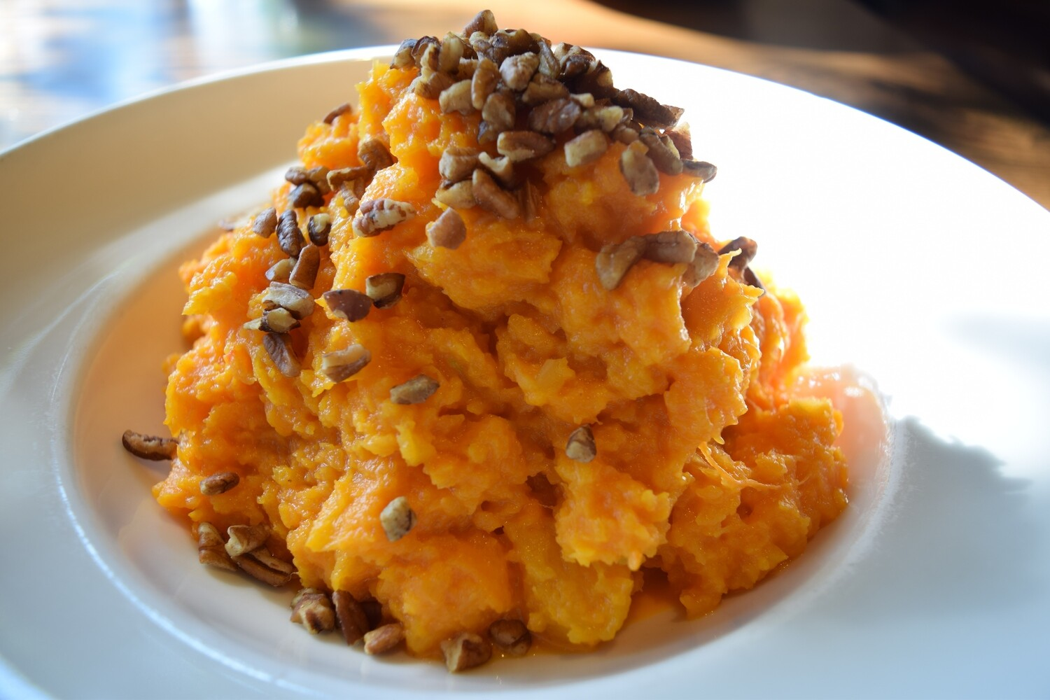 Sweet Potatoes with Pecans