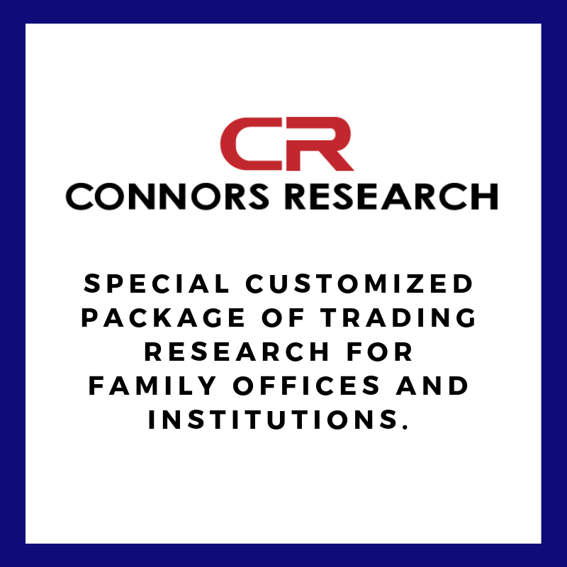 One Year of Customized Trading Research from Connors Research COU-CTR-12
