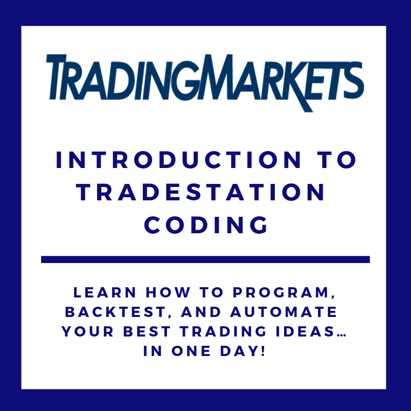 Introduction to TradeStation Coding COU-TSIN-Q214
