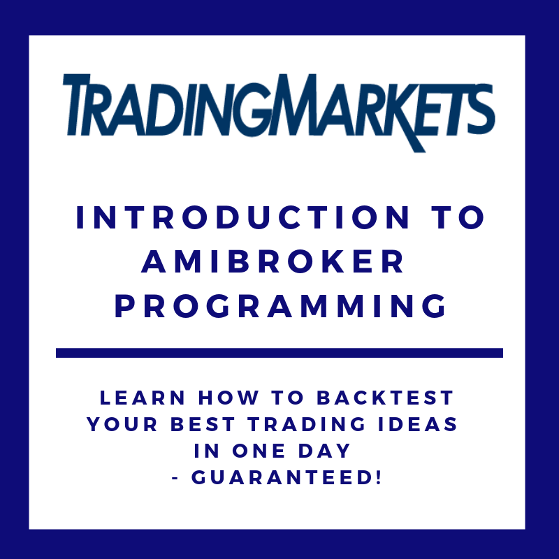 Introduction to AmiBroker Programming COU-CRA1-Q214