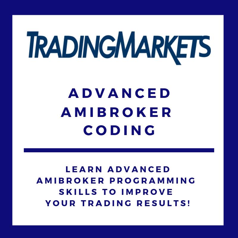 Advanced AmiBroker Coding COU-CRA2-Q214