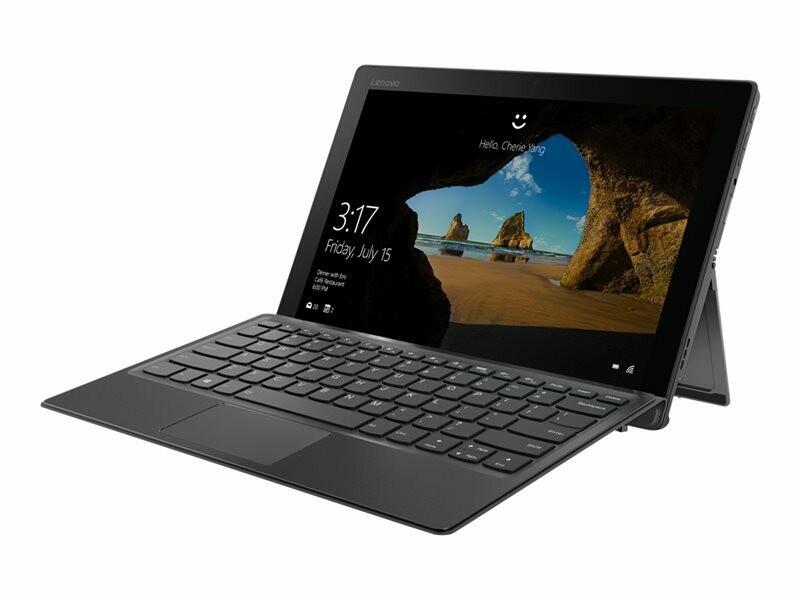 """Lenovo Miix 520-12IKB 20M3 - Dual Core i3(7th Gen)/4GB Ram/128GB SSD Hard drive/12"""" IPS Touchscreen(1920x1200)/Win 10 Pro"""