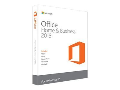 Microsoft Office Home and Business 2016 32/64 bit - Electronic Software Download (ESD)